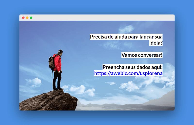 slide para vender mentoria